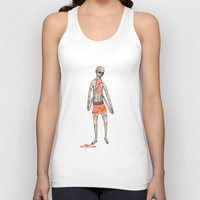 boxer Tank Tops featuring BOXER by auntikatar