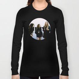 HAIM round photo logo Long Sleeve T-shirt