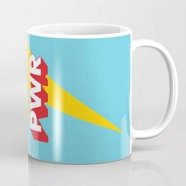 GRL PWR // in Red Blue Coffee Mug