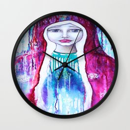 Love Witnesser by Tanya Cole Wall Clock