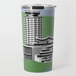 Soviet Modernism: Youth Palace in Yerevan, Armenia Travel Mug