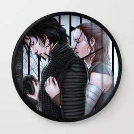 Rebirth of Ben Solo Wall Clock