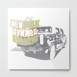 Hummer NY Metal Print