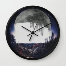 Night Hike Wall Clock