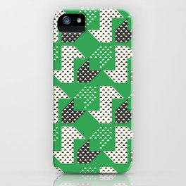 Clover&Nessie Glass/Charcoal iPhone Case
