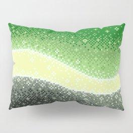 Aromantic Pride Flag Galaxy Pillow Sham