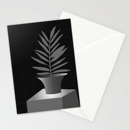 Lola Pot #2 Black Stationery Cards