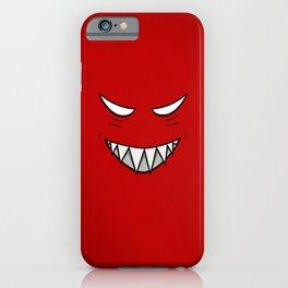 Evil Grin Evil Eyes iPhone Case
