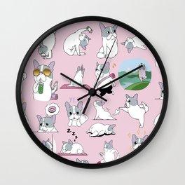 Yogi Yoga Wall Clock