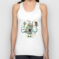 Promenade (without background) Unisex Tank Top