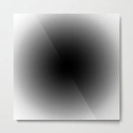 Optical Illusion - Change Metal Print