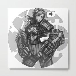 VI Metal Print
