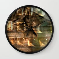 gem Wall Clocks featuring Gem by Allison Motola