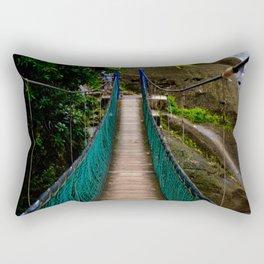 Swinging Bridge -Guam Rectangular Pillow