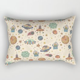 Cute Universe Rectangular Pillow