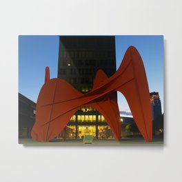 Alexander Calder's La Grande Vitesse  Metal Print