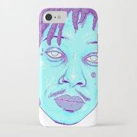 wiz khalifa iPhone & iPod Cases featuring WIZ by Mitch Meseke
