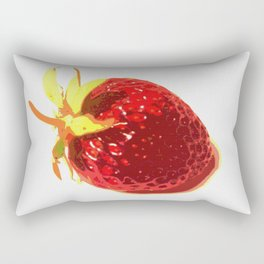 Strawberry - Old Man of the Earth Rectangular Pillow