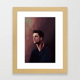 Sebastian Stan Framed Art Print
