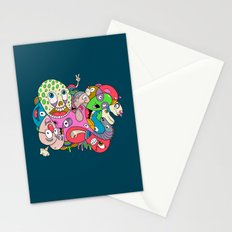 Teenage Mutant Scribble Turtle Stationery Cards