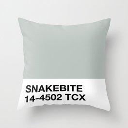 snakebite Throw Pillow