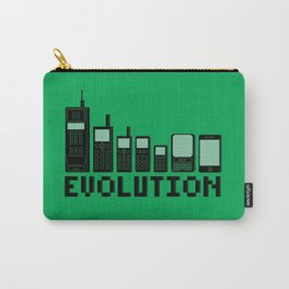 Cell Phone Evolution Carry-All Pouch