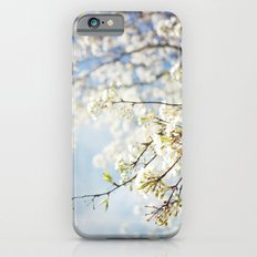 White Flowers Against the Sky Slim Case iPhone 6s