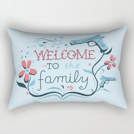 Welcome to the Family Rectangular Pillow