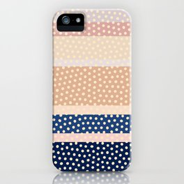 Dots and Stripes 2 iPhone Case