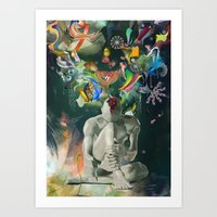 archan nair Art Prints featuring Ia:Sija by Archan Nair
