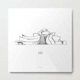 Bilbao Metal Print