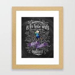 Wisdom of Finn Framed Art Print