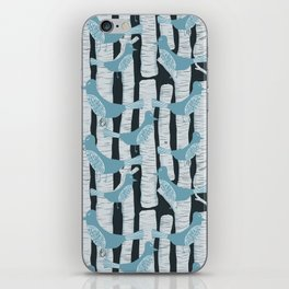 For the Birds and Birch Trees iPhone Skin