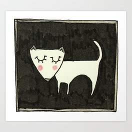 A Dog Called Mara.  Art Print