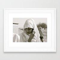 arab Framed Art Prints featuring Arab Woman by Dave Christiansen - Photographer/Artist