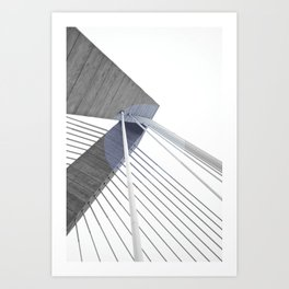 The Bridge 002 Art Print
