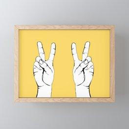 Peace I Framed Mini Art Print