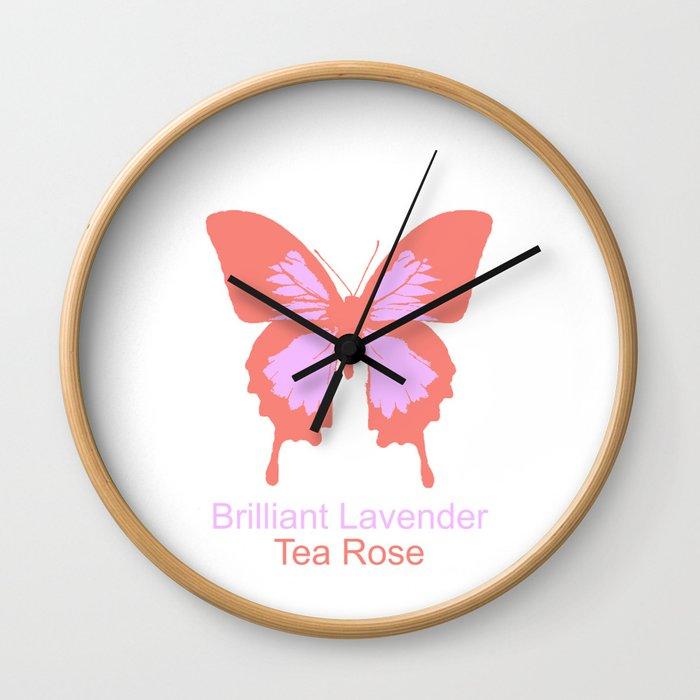 Ulysses Butterfly 7 Wall Clock