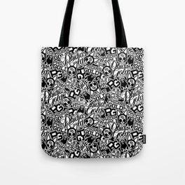 Phidias Gold Sticker Pattern Tote Bag