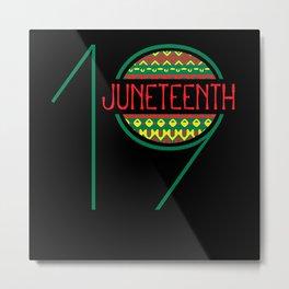 Juneteenth, Juneteenth African american, Freedom Metal Print