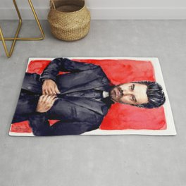 Crazy Priest Rug
