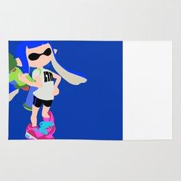 Inkling Girl (Blue) - Splatoon Rug