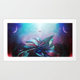 (Be)come Weightless Art Print