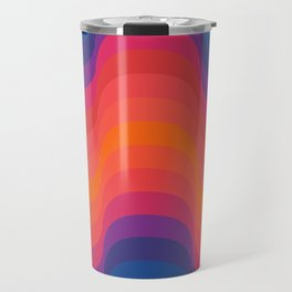 Retro Sacred Geometry Travel Mug