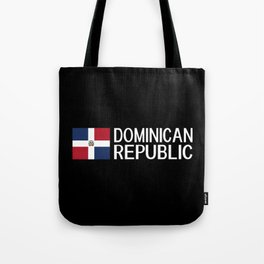 Dominican Republic: Dominican Flag & Dominican Rep Tote Bag
