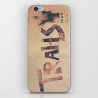 word iPhone & iPod Skins featuring word  by bugo