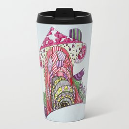 funny house Travel Mug