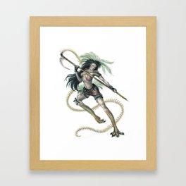 Marukyd - Warrior Framed Art Print