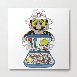 Koopa Country Metal Print
