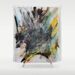Woarrr - Paint splash Shower Curtain